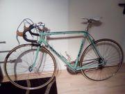 Rennrad, Bianchi, grün,