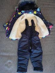 Ein warmer Schneeanzug 2-teilig