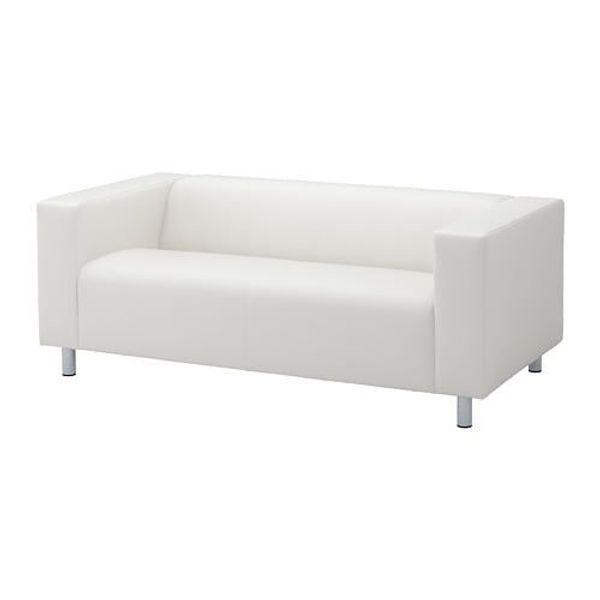 Klippan 2-er Sofa IKEA - Bezug weiß - zu verschenken! in Neuweiler ...