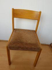 4 Stühle Holz Stuhl