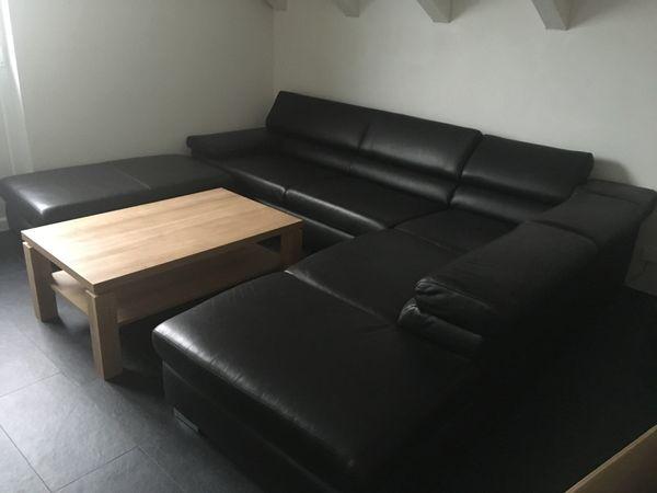 Hochwertige Echtleder Couch Soda Von Puro Neuwertig In Wald