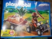 Playmobil 4834 Wilderer Quadgespann