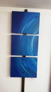 Triptychon Bild Acryl