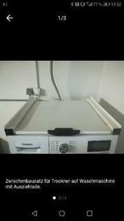 Zwischenbausatz für Waschmaschine und Trockner