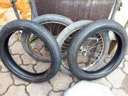 Fahrrad und Moped