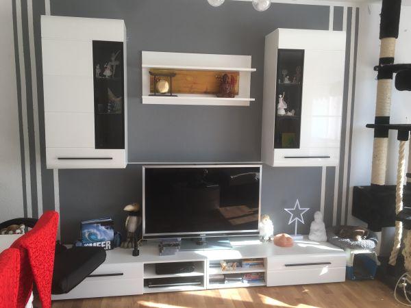 Wohnwand Hamburg Sammlung : Wohnwand hochglanz weiß neu in hamburg wohnzimmerschränke