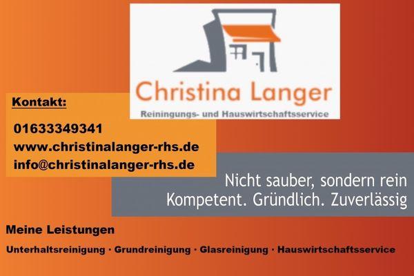 Christina Langer Reinigungs und Hauswirtschaftsservice