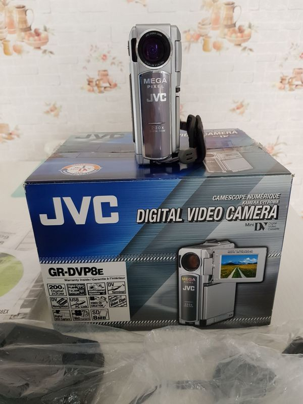 JVC DIGITAL VIDEO CAMERA MINI