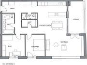 Luxuriöse 3 Zimmer