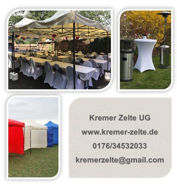 Pavillon Zelt 3x3, Partyzelt, Zelt zu verleihen, leihen, mieten in ...