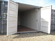Lager-Garage-Container - verschiedene Größen mit Licht