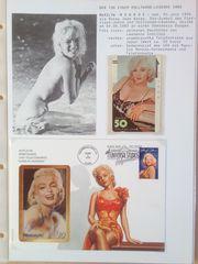 Marilyn Monroe Telefonkarten 4 Stk