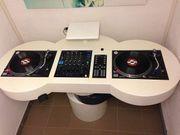2x Technics 1210MkII Pioneer DJM800