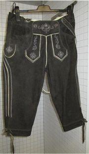 Almsach Kniebund Lederhosn - (