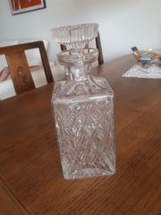 Whisky Karaffe Bleikristall