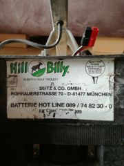 Elektrotrolly Hill Billy Golftrolly