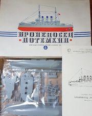 Modellbausatz Panzerkreuzer Potemkin unbenutzt in