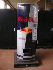 Getränkeautomat,Colaautomat- Red