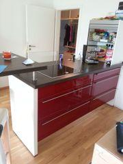 Nobilia Küche rot,