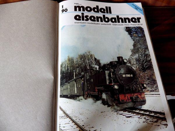Neuw Modellbahn-Zeitschriften gebunden u ungebunden