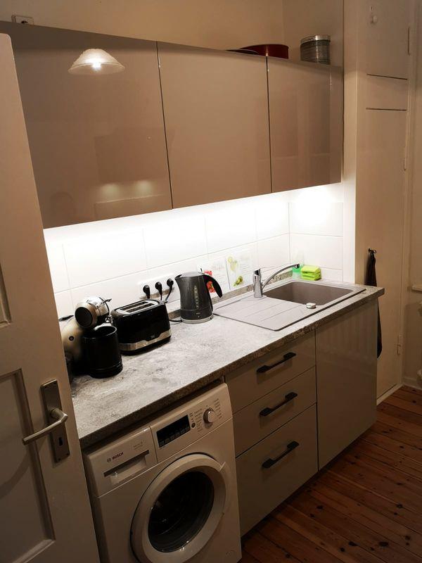 Ikea Küche Creme Hochglanz