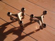 Stoff Nagel - Kerzenhalter stapelbarer Kerzenhalter