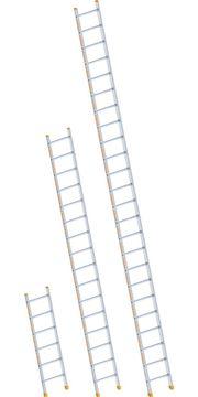 Alu-Anlegeleiter, Länge