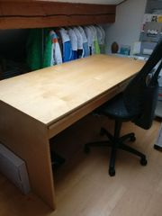 Schreibtisch mit 2