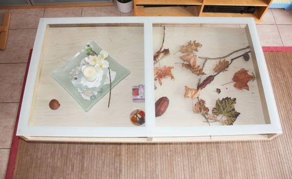 Ikea couchtisch glas birke  IKEA* Magiker Couchtisch, Birke, Glas 135 x 75 x 45 cm in Mannheim ...