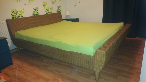 Rattan Bett 180x200 In Neckargemund Betten Kaufen Und Verkaufen