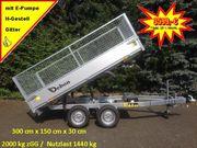 DEBON Rückwärtskipper 2000 kg E-Pumpe