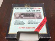 Oldtimer Auto-Radio ICA CR-1100 SDK