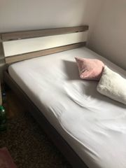 Bett für 2