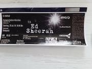 Ed Sheeran Konzertkarte