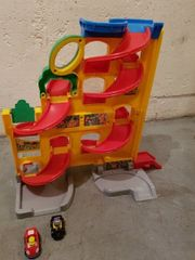 Auto Rennbahn Fisher Price