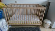 Babybett aus Holz 60x120 mit