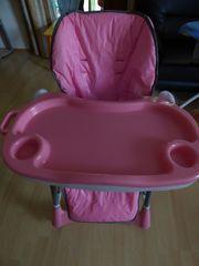 TecTake Kinderhochstuhl Babyhochstuhl höhenverstellbar mit