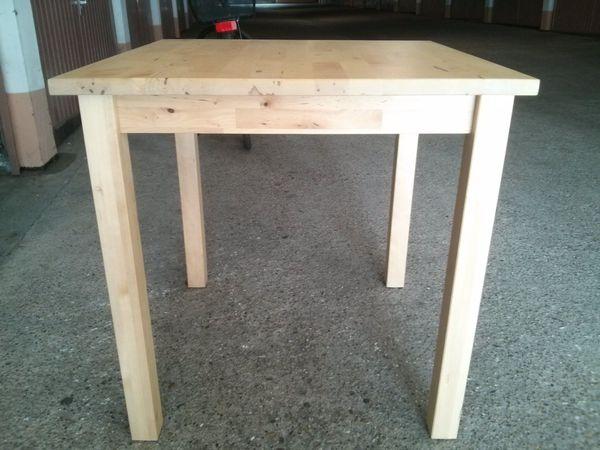 2St. IKEA Holz Tisch Norden 17343 74x74x74 in Pforzheim ...