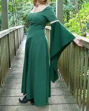 Mittelalterkleid Larp Fantasy Elfen Gothic