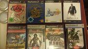 PS 2 Spiele zu verkaufen