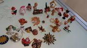31 Weihnachtsfiguren Christbaumschmuck