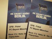 DFB-POKAL Hertha gegen Bayern