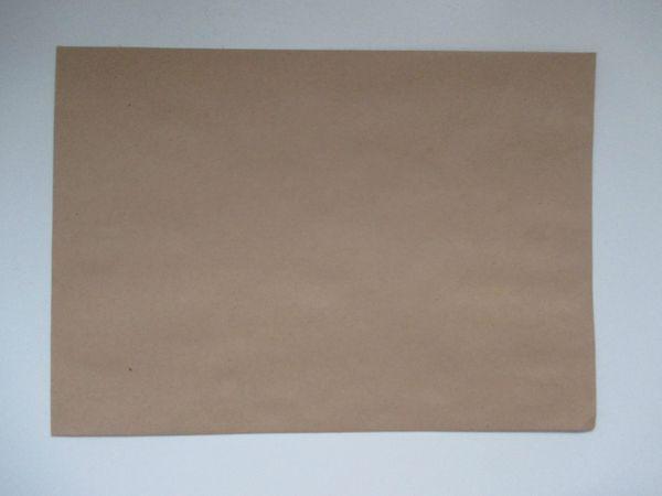 500 Stück Briefumschläge Versandtaschen braun
