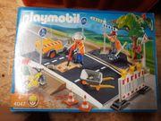 Playmobbil 4047 Große Straßenbaustelle