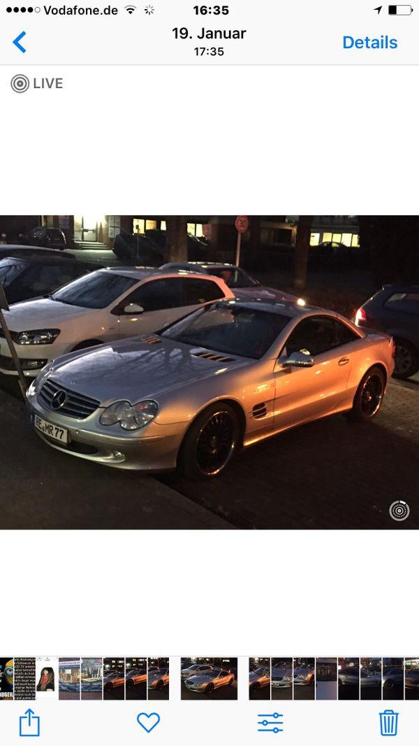 verkaufe 500SL Mercedes Cabriolet