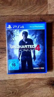 PS 4 Uncharted