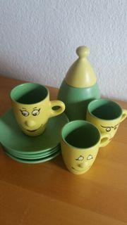 3 lustige Kinder Tassen mit