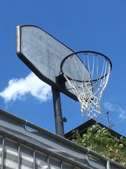 Basketballständer für draußen (