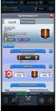Clash Royale Acc Level 12
