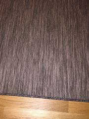 Teppich grau weiß meliert